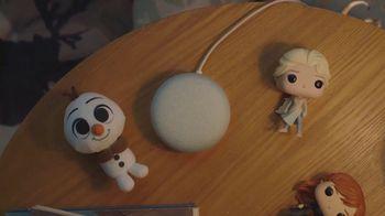 Google Home Mini TV Spot, 'Frozen 2: Exclusive Stories: $19'