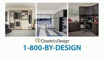 Closets by Design TV Spot, 'Imagine Your Home: 15 Percent Off Installation' - Thumbnail 5