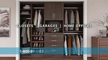 Closets by Design TV Spot, 'Imagine Your Home: 15 Percent Off Installation' - Thumbnail 1