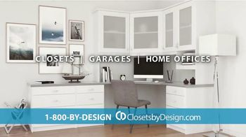 Closets by Design TV Spot, 'Imagine Your Home: 15 Percent Off Installation' - Thumbnail 3