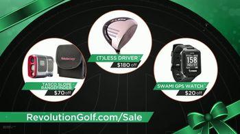 Revolution Golf TV Spot, 'Savings: Holiday Gift Guide'
