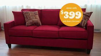 Bob's Discount Furniture TV Spot, 'Holidays: Collecting Postcards for Santa' - Thumbnail 8