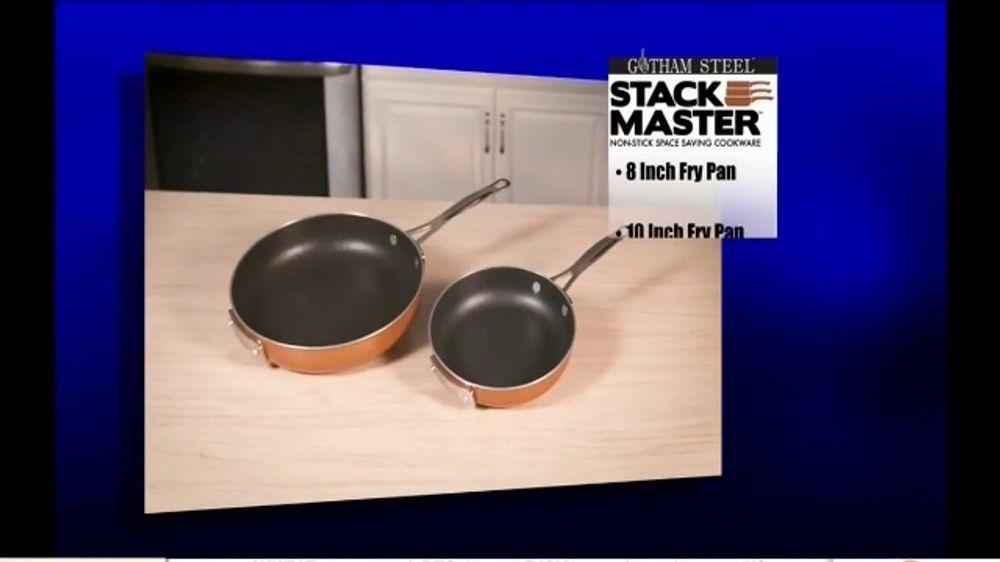 Gotham Steel Stack Master Cookware Tv Commercial Get
