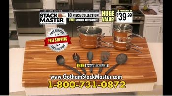 Gotham Steel Stack Master Cookware TV Spot, 'Get Your Space Back'