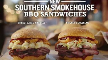 Arby's Southern Smokehouse BBQ Sandwiches TV Spot, 'Go On Now, Get!' Song by YOGI