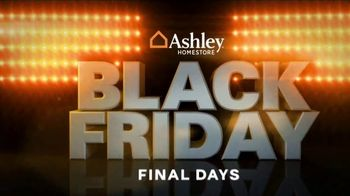 Ashley HomeStore Black Friday TV Spot, 'Final Days: Upholstered Sofa' Song by Midnight Riot - Thumbnail 1