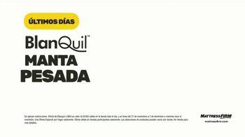 Mattress Firm Venta de Black Friday TV Spot, 'Extendida: BlanQuil y Serta' [Spanish] - Thumbnail 2