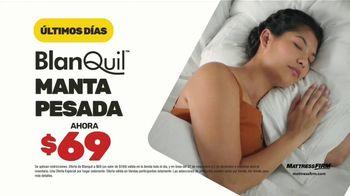 Mattress Firm Venta de Black Friday TV Spot, 'Extendida: BlanQuil y Serta' [Spanish] - Thumbnail 3