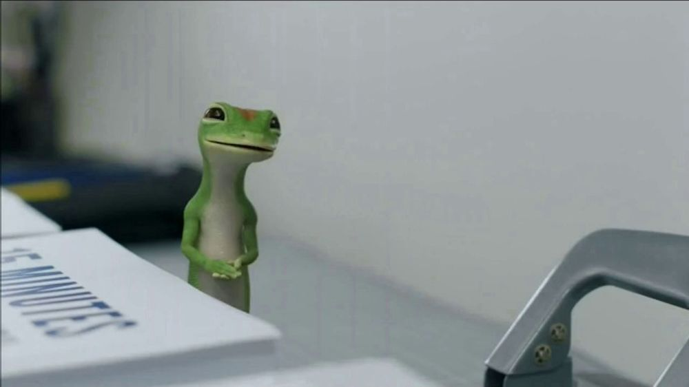 Roadside Assistance State Farm >> GEICO TV Commercial, 'The Gecko Makes Copies' - iSpot.tv