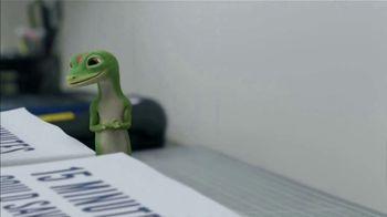 GEICO TV Spot, 'The Gecko Makes Copies' - Thumbnail 3