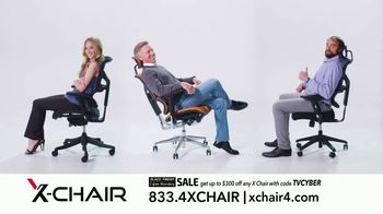 X-Chair Black Friday Cyber Monday Sale TV Spot, 'The World's Most Productive People: $300 Off' - Thumbnail 10