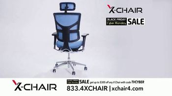 X-Chair Black Friday Cyber Monday Sale TV Spot, 'The World's Most Productive People: $300 Off' - Thumbnail 8