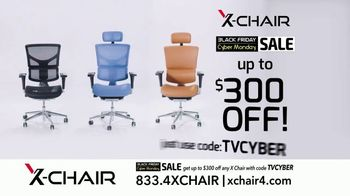 X-Chair Black Friday Cyber Monday Sale TV Spot, 'The World's Most Productive People: $300 Off' - Thumbnail 9