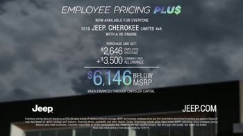 Jeep Black Friday Sales Event TV Spot, 'Employee Pricing Plus' Song by Confetti [T2]