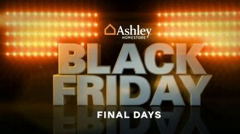 Ashley HomeStore Black Friday Mattress Sale TV Spot, 'Final Days: Ashley Cash and Financing' Song by Midnight Riot - Thumbnail 1