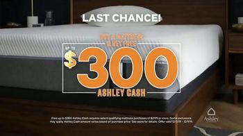 Ashley HomeStore Black Friday Mattress Sale TV Spot, 'Final Days: Ashley Cash and Financing' Song by Midnight Riot - Thumbnail 2