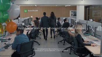 TD Ameritrade TV Spot, 'Green Room: Service That Exceeds Expectations: $0 Commissions' - 1240 commercial airings