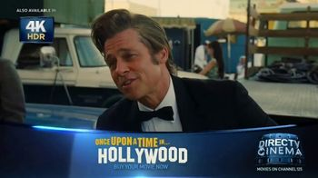 DIRECTV Cinema TV Spot, 'Once Upon a Time in Hollywood' - Thumbnail 2