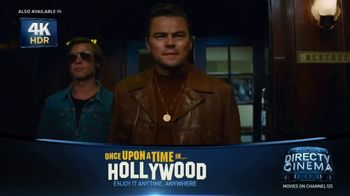 DIRECTV Cinema TV Spot, 'Once Upon a Time in Hollywood' - Thumbnail 4