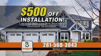 Beldon Siding TV Spot, 'Nothing Like It: $500 Off Installation' - Thumbnail 5