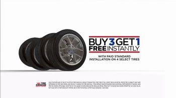 Tire Kingdom TV Spot, 'Buy Three, Get One Free: $50 Mail-In Rebate' - Thumbnail 3