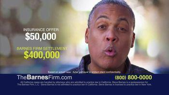 The Barnes Firm TV Spot, 'Free Case Review: $400,000 Settlement'