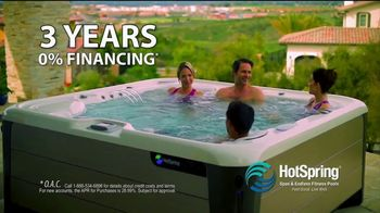 HotSpring Lucky Duck Savings Event TV Spot, 'Endless Fitness Pools'