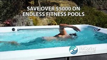 HotSpring Lucky Duck Savings Event TV Spot, 'Endless Fitness Pools' - Thumbnail 6