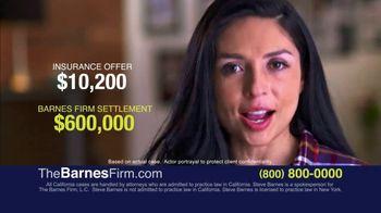 The Barnes Firm TV Spot, 'Insurance Offer'