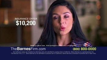 The Barnes Firm TV Spot, 'Insurance Offer' - Thumbnail 1