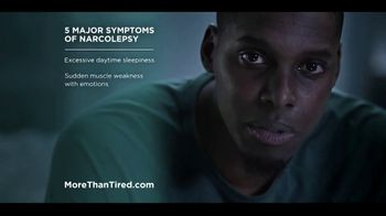 More Than Tired TV Spot, 'Five Major Symptoms of Narcolepsy' - Thumbnail 5