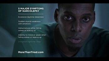 More Than Tired TV Spot, 'Five Major Symptoms of Narcolepsy' - Thumbnail 6