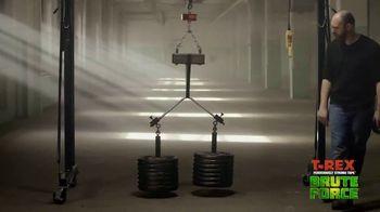 T-Rex Brute Force TV Spot, 'Dead Weight vs. Brute Force: Super Glue Tape' - Thumbnail 8