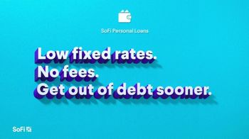 SoFi TV Spot, 'SoFi Members Get Their Credit Card Debit Right: Fixed Rates, No Fees' Song by Labrinth - Thumbnail 4