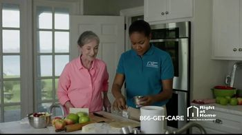 Right at Home TV Spot, 'The Right Care Right at Home' - Thumbnail 9