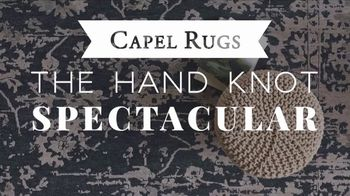 Capel Rugs Hand Knot Spectacular TV Spot, 'Up to 75 Percent' - Thumbnail 1