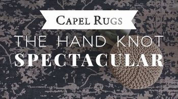Capel Rugs Hand Knot Spectacular TV Spot, 'Up to 75 Percent' - Thumbnail 2