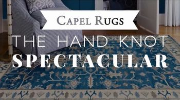 Capel Rugs Hand Knot Spectacular TV Spot, 'Up to 75 Percent' - Thumbnail 3