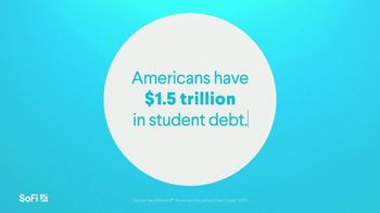 SoFi TV Spot, 'SoFi Members Get Their Student Debt Right: $1.5 Trillion Debt' Song by Labrinth - Thumbnail 1