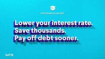 SoFi TV Spot, 'SoFi Members Get Their Student Debt Right: Low Rates' Song by Labrinth - Thumbnail 5