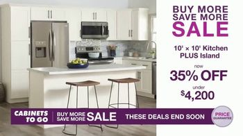 Cabinets To Go Buy More Save More Sale TV Spot, 'Special Financing' - Thumbnail 3