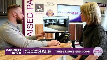 Cabinets To Go Buy More Save More Sale TV Spot, 'Special Financing' - Thumbnail 5