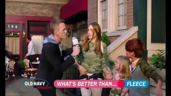 Old Navy TV Spot, 'What's Better Than Fleece?: Fleece Sweatshirts' Featuring Neil Patrick Harris - Thumbnail 5