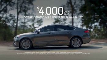 Ford Match-Up Month TV Spot, '2020 Fusion' [T2] - Thumbnail 3