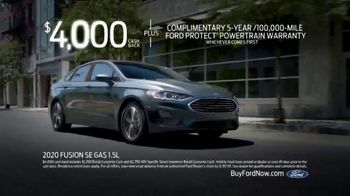 Ford Match-Up Month TV Spot, '2020 Fusion' [T2] - Thumbnail 9