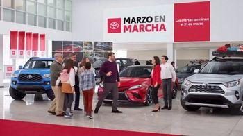 Toyota Marzo en Marcha TV Spot, 'Un momento' [Spanish] [T2] - 4 commercial airings