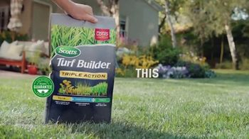 Scotts Turf Builder Triple Action TV Spot, 'Triple Threat' - Thumbnail 9