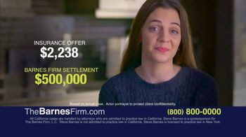 The Barnes Firm TV Spot, 'What Your Case Is Worth'