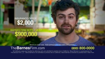 The Barnes Firm TV Spot, 'What Your Case Is Worth' - Thumbnail 7