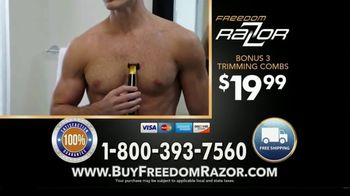 Freedom Razor TV Spot, 'Shave, Trim and Edge All With One Handle' Featuring Michael Irvin - Thumbnail 10